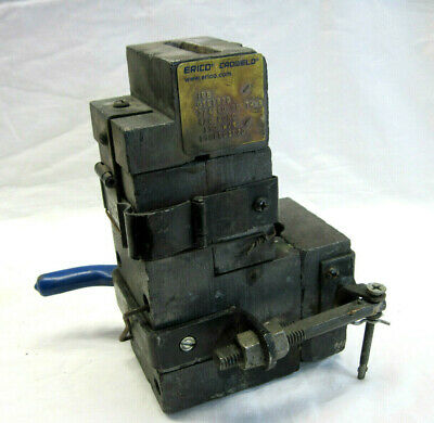 Vintage Erico Cadweld Gye182q Through Cable To Side Of Ground Bar Mold Welder