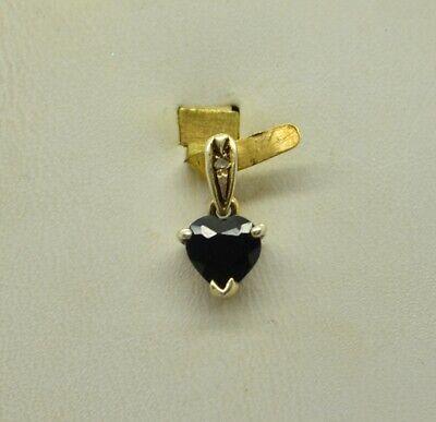 STERLING SMALL HEART SHAPE ONYX STONE DESIGN PENDANT#FMI261 Gemstone Heart Shape Pendant