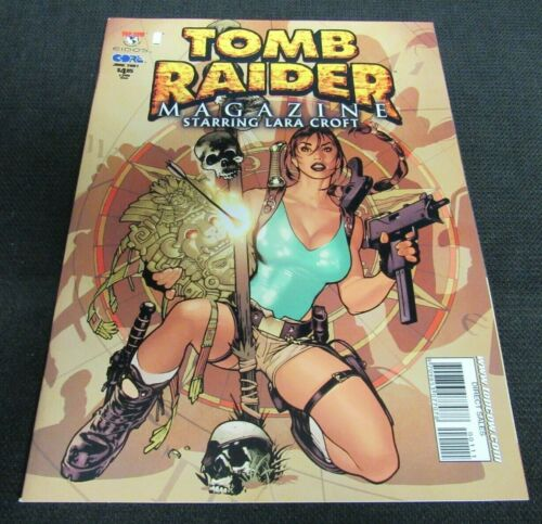 Tomb Raider Magazine #1 (2001) Image Lara Croft Adam Hughes Cover NM 9.6 YY45