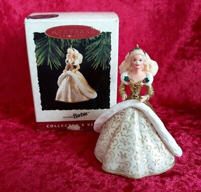 Vintage Hallmark Holiday Barbie Christmas Ornament 2nd in the Collector's Series