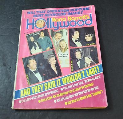 Rona Barrett's Hollywood August 1973 Ali McGraw Dean Martin Magazine Book P4