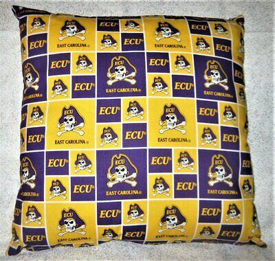ECU-East Carolina University Pirates Throw Pillow - 18