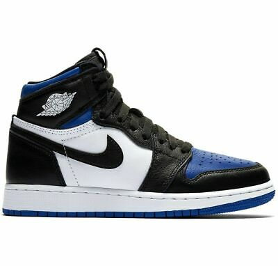 Nike Air Jordan 1 Retro High 'Royal Toe' Blue - Size 5.5 (GS) - *SHIPPED*
