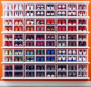 Drop front shoe box sneaker boxes container store