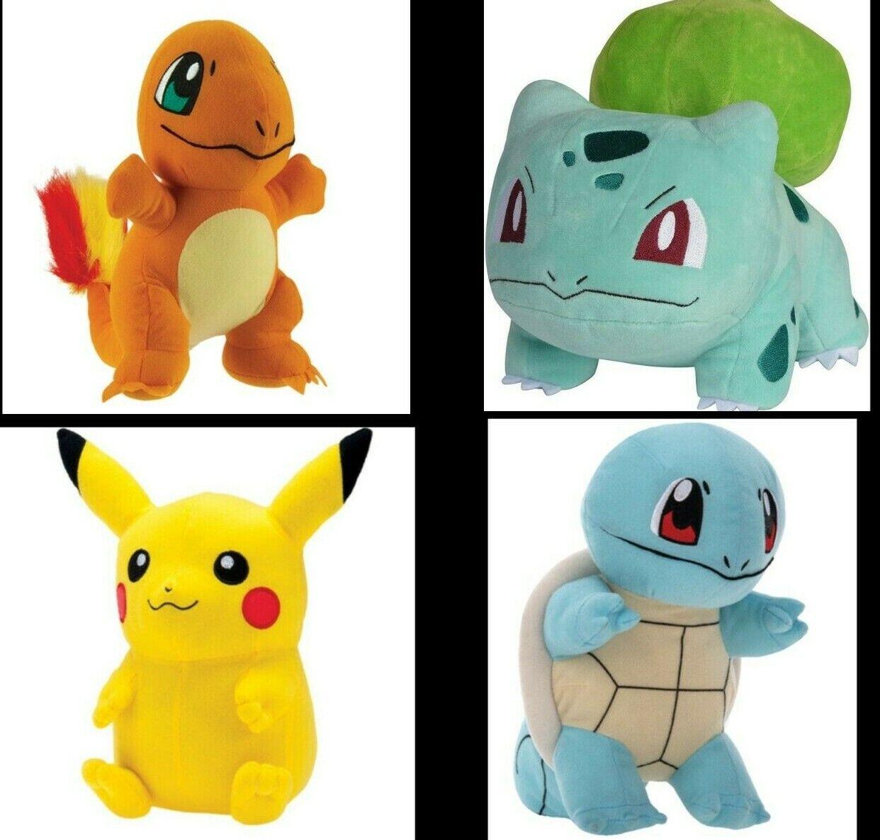 "как выглядит Pokemon Pikachu Bulbasaur Charmander Squirtle Plush doll 6"" Stuff Animal Figure фото"