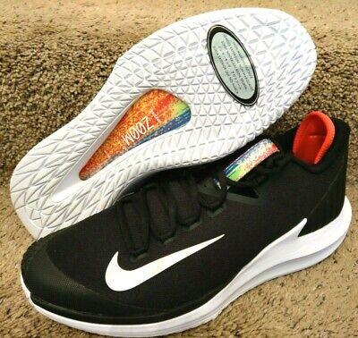 385640ef9e7d Nike Court Air Zoom Zero Tennis Shoes AA8018 006 Black White Crimson Size  11.5
