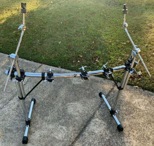 Groove Percussion front drum rack w/ boom arms