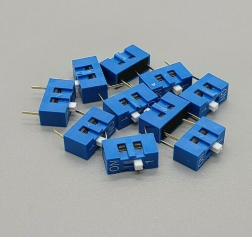5 Pcs 1 Position Pin DIP Switch for arduino projects Breadboard Friendly