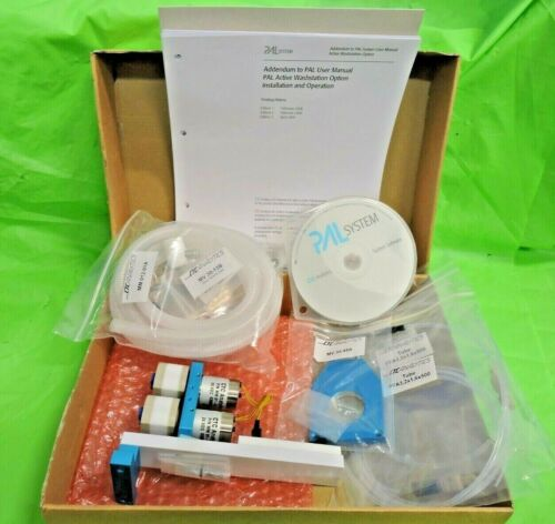 Complete CTC Analytics Leap PAL Autosampler Wash Station Software Tubing & More