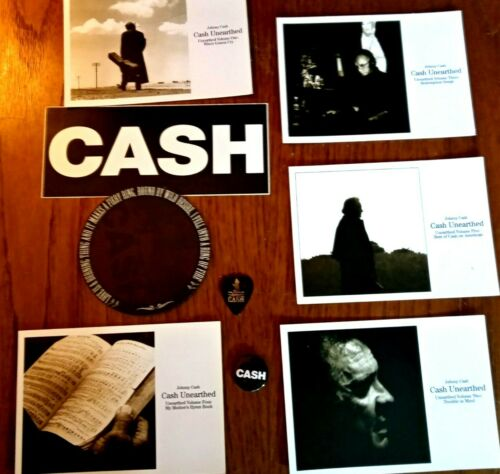 Johnny Cash - 2003 Promo Pack of Memorabilia