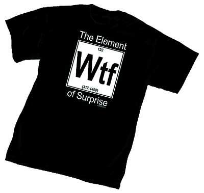 Element Of Surprise Black T-Shirt ()