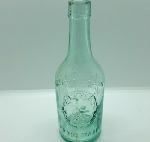 Original WW I patriotic bottle Austria Hungary VIRIBUS UNITIS 1895