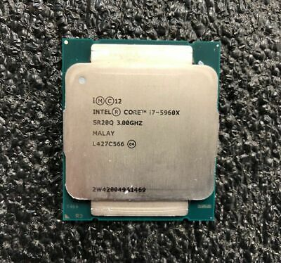 Intel Core i7-5960X Extreme Edition Haswell E Processor 3.0GHz 0GT/s 20MB LGA
