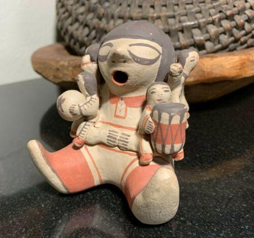 Signed Dorothy Loretto Trujillo, Cochiti Pueblo New Mexico Storyteller Pottery