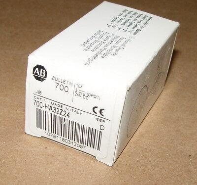 New Allen Bradley Relay 700-ha32z24 24 Volt Coil 10 Amps