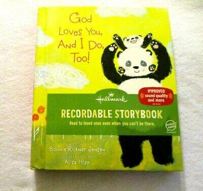 I Do Too (God Loves You, And I Do, Too! Hallmark recordable storybook Bonnie Jensen)
