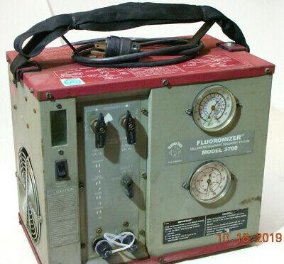 Fluoromizer Model 3700 Refrigerant Recovery Machine
