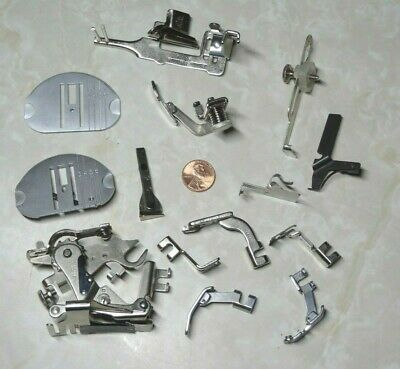 Singer Zig-Zag Attachments Sewing Machine Slant Shank PARTS, Ruffler foot 161561