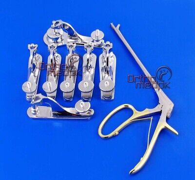 13 Pcs Gomco Circumcision Clamp 1.1 1.3 1.45 1.5 1.6 2.1 3.2 Cm Tischler Biopsy