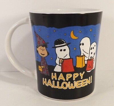 Peanuts Lucy Happy Halloween Mug Cup Gibson Trick Treat Costumes  - Peanuts Lucy Costume