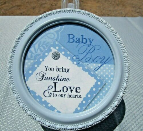 "Cottage Garden, Baby Boy, Blue Keepsake Box, ""Baby Boy............."""