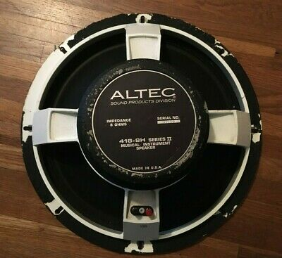 Altec 418-8H Series II 15