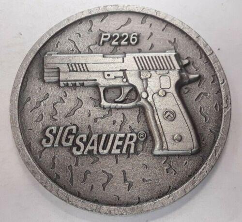 Sig Sauer P226 Legion Challenge Coin