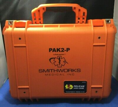 Smithworks Medical Pak2-p Pelican 1450 Case Iv Fluid Warmer W 12v Dc Cord  Kp