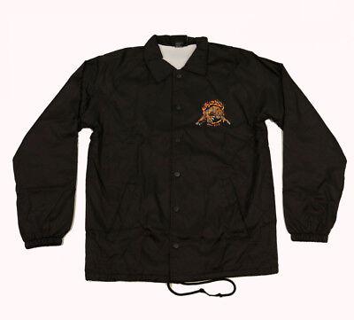 Grizzly Griptape Blazing Trails Black Coach Jacket