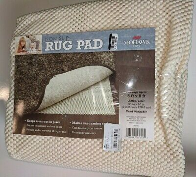 Mohawk Home Added Padding Non-Skid 5-Foot x 8-Foot Rug Pad