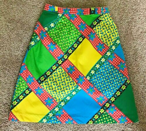 Vintage Summit of Boston Womens Multicolor Golf Skirt & Attached Pants Sz 10
