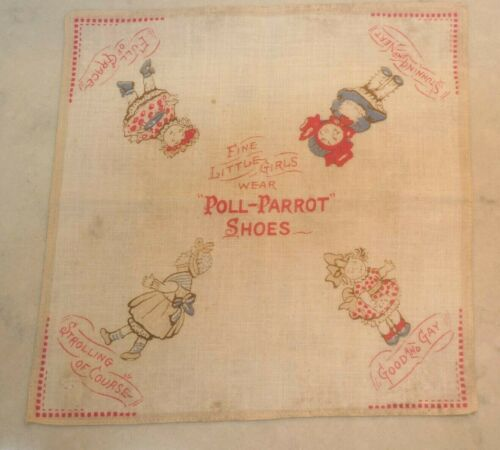 Vintage Poll Parrot Shoes Little Girls