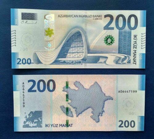Azerbaijan banknote 200 Manat UNC