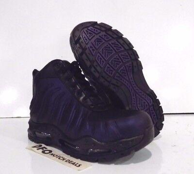 Nike Air Max Foamdome Boots Sz 8-13 Varsity Purple Black NEW 843749 500