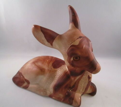 "Pine Scented Pottery 5.5"" Deer Figurine Vintage Colorado Rockies. Pre-owned"