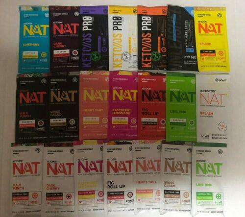 Pruvit Keto OS MAX NAT Ketones Packet 5,10, 20 Days VARIOUS FLAVORSorMixed Packs