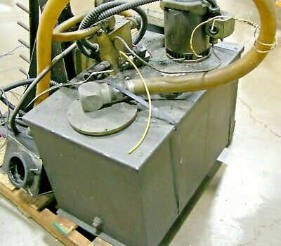 Bar Feeder Pump With Racks And Extensions
