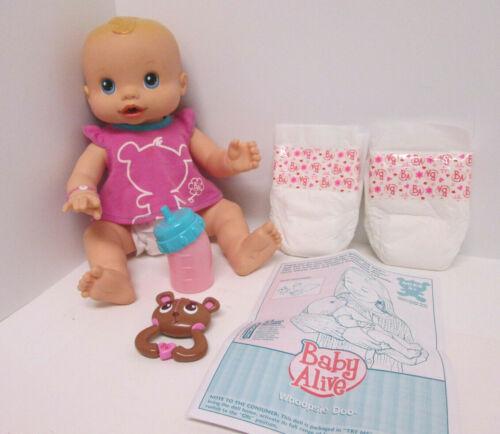 Baby Alive 2009 Whoopsie Doo Original Accessories Wets n Wiggles