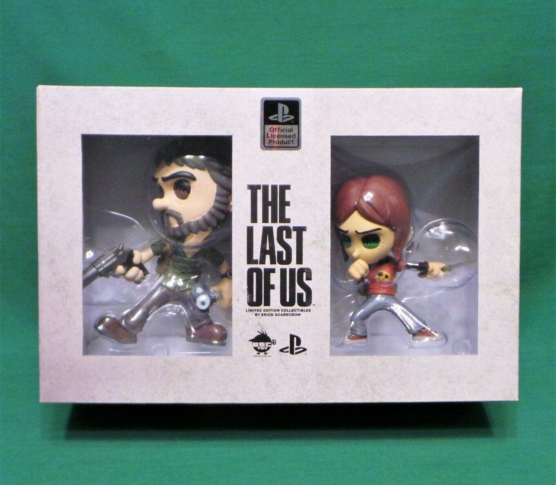 The Last of Us Joel and Ellie Vinyl Figure Set Naughty Dog Officially Licensed