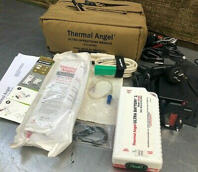 Thermal Angel Ultra Operations Module Ta-uom Iv Fluid Warmer Ems Paramedic -d-