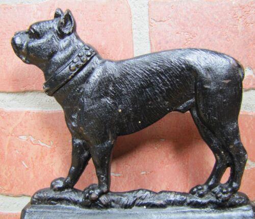 B&H Bradley & Hubbard Bulldog Antique Cast Iron Bookend Decorative Art Statue