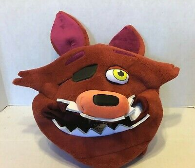 FNAF Five Nights At Freddy's Foxy Cosplay Plush Mask Halloween