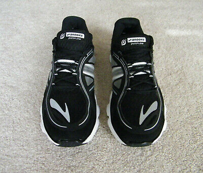 373b7103afc Brooks Pure-Flow Black and White Running Shoes