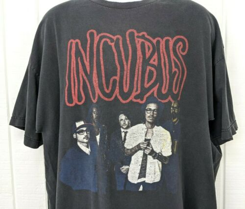 Distressed 2012 EdgeFest Incubus Awolnation Neon Trees Concert Festival T Shirt