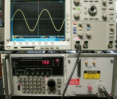 Synthesized Signal Generator 1mhz To 4000mhz High Power 15dbm Sweep Eaton 380 K