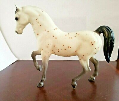Vintage Breyer Traditional Ara-Appaloosa Stallion Prancing Horse #872