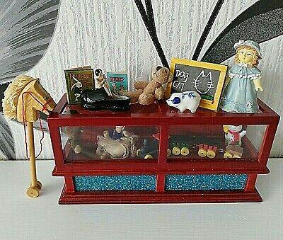 Toy Shop Counter Cabinet for 1/12 scale Dolls House Toy Shop
