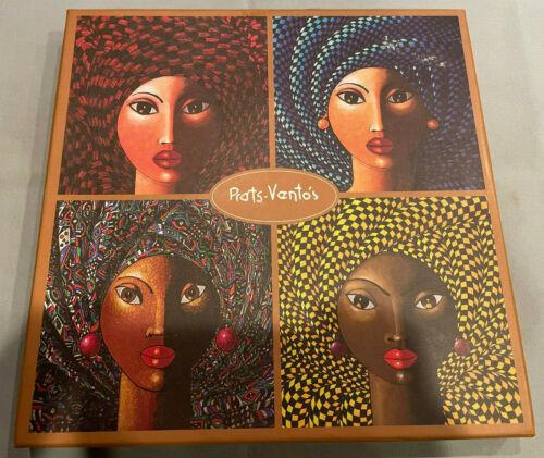 Prats-Ventos Arte de Cafe 12cm/4.73in Square Plates Set of 4 Limited Edition NIB
