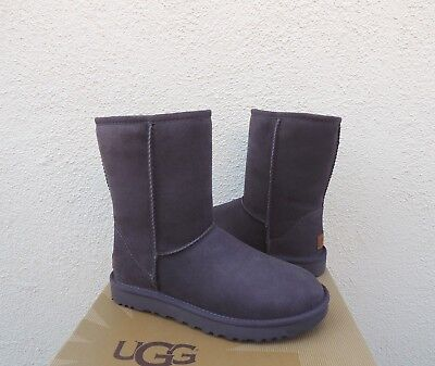 UGG CLASSIC SHORT II NIGHTFALL WATER-RESISTANT SUEDE BOOTS, US 6/ EUR 37 ~NIB for sale  Ventura