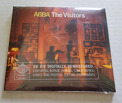 ABBA The Visitors *NEW* CD Remastered w/BONUS TRACKS +More 13 Tracks 2001 Sealed